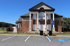 Georgia Visitor Information Center, Lowndes County building (South face) (MJRGoblin) Tags: lowndescounty 2016 lakepark georgia