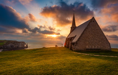 Chapelle Notre-Dame de la Garde (Tom.Bricker) Tags: france tretat normandy chapel