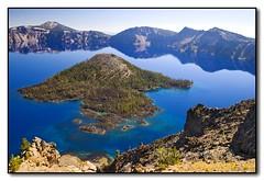 Wizard Island, Crater Lake, Oregon (seagr112) Tags: unitedstates oregon craterlake craterlakenationalpark sonya900 wizardisland volcano extinctvolcano collapsedvolcano cascaderange mountmazama