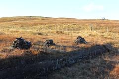Garynahine - Peat (Shabba Al) Tags: lewis garynahine tursachan isleoflewis scotland westernisles stonecircle stones history archeology archaeology autumn winter november 2016 peat stack