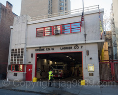 FDNY Firehouse Engine 16 & Ladder 7, Gramercy, New York City (jag9889) Tags: jag9889 usa building manhattan engine gramercy 20161113 outdoor 2016 ladder lowermanhattan newyorkcity e016 firehouse lowereastside newyork fdny apparatus architecture bravest firedepartment firedepartmentofthecityofnewyork firetruck firefighter firstresponder hook house les laddertruck ny nyc newyorkcityfiredepartment newyorksbravest pumpertruck truck unitedstates unitedstatesofamerica vehicle us
