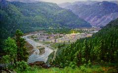 Pochonbo sous un clair de lune - Jon Hak - Peinture (nokoredstar) Tags: aquarelle peinture coréedunord pyongyang paysage broderie
