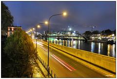 Paris 7h00 7 (yves thom) Tags: paris garedausterlitz nuit canons110 heurebleue