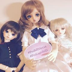 Pro BJD Artist Day 2016 (Opalyne) Tags: probjdartist prolegitbjd norecast volks kurumi bluefairy daydream doll dollfie bjd superdollfie