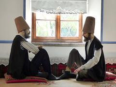 Konya - Mevlana Turbesi, museum, dining room reconstruction (5) (damiandude) Tags: rumi dervish sufi