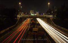 M32 Traffic Trails (Eyelevel Photography UK) Tags: m32 motorway freeway redlights whitelights traffictrails nightshot nightphotography nighttrails m32motorway longexposure longexposureatnight allrightsreserved©eyelevelphotographyuk