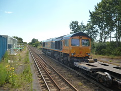 class66 66719 GBRF seen passing Trimley (between ipswich and felixstowe) (The_train_man72) Tags: freight class66 gbfr