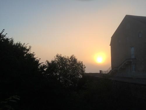 Morgenstimmung Burg Hollenfels