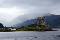 Eilean Donan Castle. (artanglerPD) Tags: mist mountains castle water loch eilean donan duich garvetrip