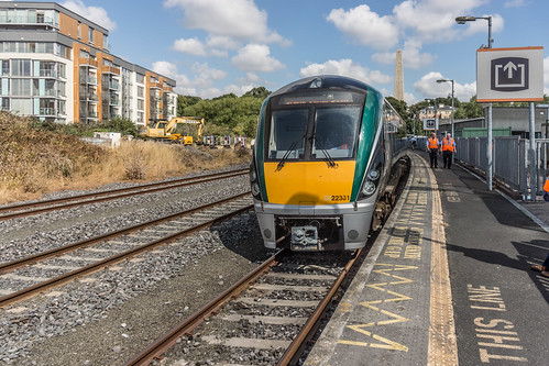 THE MINISTER PLUS PLATFORM 10 AND THE PHOENIX PARK RAILWAY TUNNEL [NOT FORGETTING IRISH RAIL STAFF] REF-107101