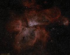 Eta Carina Nebula (CSky65) Tags: ngc carina southern takahashi gibbs fli etacarina ngc3372 astrometrydotnet:status=solved itelescope jrgibbs astrometrydotnet:id=nova1221388
