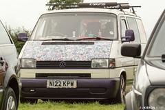 Volkswagen van (Kieron Marr) Tags: car vw volkswagen van dub stickerbomb