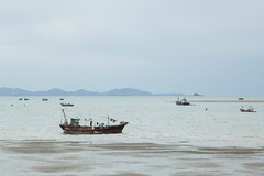 Fishing boats in Nampo (North Korea) (bvoneche) Tags: kp coredunord