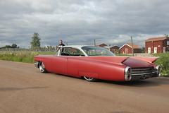 Cadillac 1960 (Drontfarmaren) Tags: show classic car vintage gallery sweden pics cruising event american week sverige coverage dalarna meet bilder sommar 2015 rättvik galleri drontfarmaren