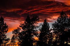 Less Polluted Version (crcmuir) Tags: sunset red sky lake nikon tahoe