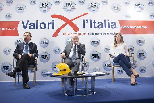 Ministro Boschi e Segretario Messina