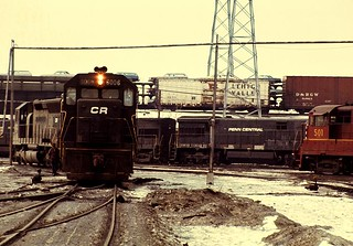 CR SD35 6006 Frontier Yard BuffaloNY 0277