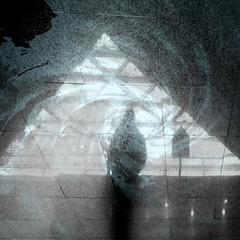 301. illuminatus (joe.laut) Tags: bw oktober square blackwhite triangle surreal figure sw schwarzweiss mystic 2015 incoloro joelaut 3652015