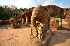 India - Odisha - Bhubaneswar - Udayagiri Caves - Cave 10 (Ganesha Gumpha) - 4 (asienman) Tags: india caves bhubaneswar udayagiri asienmanphotography khadagiri