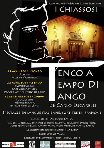 Tenco a tempo di tango (affiche) copie