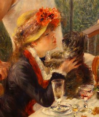 Phillips Collection (ktmqi) Tags: seine painting washingtondc impressionist phillipscollection pierreaugusterenoir chatou luncheonoftheboatingparty ledjeunerdescanotiers alinecharigot maisonfournaise