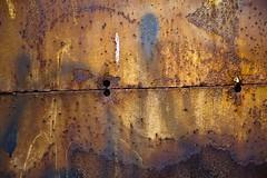 Composition oxydée (Gerard Hermand) Tags: 1508037568 gerardhermand france paris eos5dmarkii door metal porte rouille rust canon
