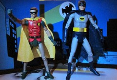"""Holy Distaff Counterpart, Batman!"" (Toyz in the attic) Tags: robin dc 1966 batman batgirl mattel adamwest burtward yvonnecraig dcuc"