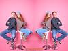 DREAMTEAM (mc_the_snapshot) Tags: pink nikon background hamburg hintergrund selfie dreamteam blitzlicht selbstauslöser hohenfelde studioaufnahme nikond800e flipflopsimwinter spassimstudio fotoateliermaikcarstensen