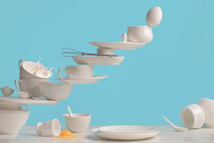 One touch: omelette (Dina Belenko) Tags: blue light food white fall kitchen breakfast contrast milk smash break egg saying drop clean shutter balance splash metaphor omelette omelet highspeed khabarovsk proverb yolk scrambledeggs unstable minimalish withoutbreakingeggs