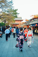 _MG_5855 (WayChen_C) Tags: 東京 tokyo 台東区 たいとうく taitōku 浅草 asakusa 淺草 淺草寺 せんそうじ あさくさ 浴衣 和服 浅草寺 temple