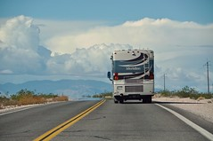 On the Road (faungg's photos) Tags: road travel sky clouds roadtrip vehicle rv  ontheroad