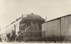 President Taft Passing Through Portage, 9-17-1909, 1