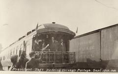 President Taft Passing Through Portage, 9-17-1909, 1