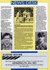 Everton vs Arsenal - Littlewoods Cup Semi Final - 1988 - Page 11 (The Sky Strikers) Tags: road cup hat austin wednesday ads paul trevor sheffield rover semi sharp mascot final lucky hero graeme to steven trick tat arsenal tricky nec wembley stubborn everton littlewoods bracewell