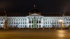Royal Palace (dressk) Tags: city longexposure brussels night dark lights nikon europe belgium belgique bruxelles brussel belge nikond40x d40x