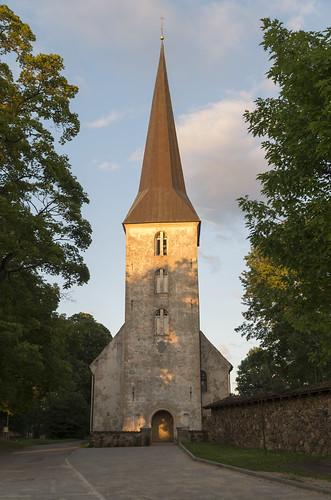 Jaunpils evaņģēliski luteriskā baznīca, 31.07.2015.