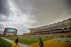 Baylor Bears vs Oklahoma State Cowboys Football Game, Saturday, September 24, 2016, McLane Stadium, Waco, TX. Bruce Waterfield/OSU Athletics (OSUAthletics) Tags: 2016 bayloruniversity osu athletics bayor bears big12 bu cowboys football oklahomastate oklahomastateuniversity pokes roadgame waco
