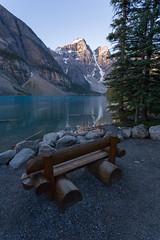 Sit & Stare at Moraine (Ken Krach Photography) Tags: lakemoraine banffnationalpark