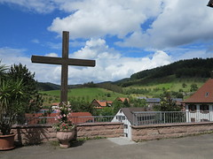 crucifix in the Black Forest (BZK2011) Tags: nordschwarzwald canon powershot g1x schwarzwald blackforest kruzifix crucifix kreuz cross berge gebirge mittelgebirge
