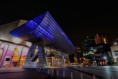 The Lowry Salford Quays (robbaxter71) Tags: lowry salfordquays salford manchester longexposure night buildings colours nikon quays nikond5200