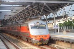 IMG_0569_571  HDR (vicjuan) Tags: 20161016 taiwan   taichung fongyuan  railway geotagged geo:lat=2425331 geo:lon=120722922  fongyuanstation hdr tonemapping  train