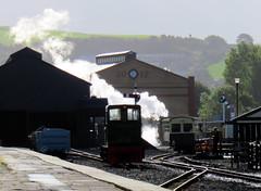 69 | Aberystwyth station  VoR train departs (Mark & Naomi Iliff) Tags: aberystwyth valeofrheidolrailway rheilfforddcwmrheidol railway steam narrowgauge train