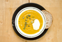 Pumpkin Soup (Hungry Peepor) Tags: soup halloween blended boiled carrot pumpkin