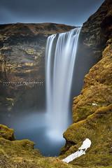 Big Fall (FredConcha) Tags: biggal nikond800 iceland waterfall cliff nature falesia cascata bigfall landscape natureza skogafoss fredconcha longexposure