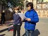 Premier exposé des élèves de 6e1 et visite de la petite France
