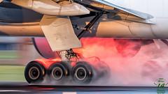 Korean Air Cargo B777 (Ramon Kok) Tags: aviation avporn avgeek airplane airport aircraft air airline airlines airfield amsterdam ams eham schiphol holland thenetherlands korean koreanaircargo ke kal cargo freigther freight hl8075 boeing 777f