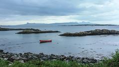 A Gift From The Sea (Mac ind Óg) Tags: arisaig landscape spring eigg cloudy moidart island walking boat scotland rùm holiday red scenicsnotjustlandscapes