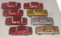 Matchbox Rolls Royce variations (sms88aec) Tags: matchbox rolls royce variations