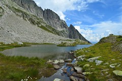 Laghetto delle Pigne (dino_x) Tags: mountains montagna landscape lakes lago water switzerland saveearth