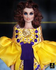 Nimue (kingdomdoll) Tags: nimue resinfashiondoll kingdomdoll kingdom doll salon yellow purple colour fashion 16